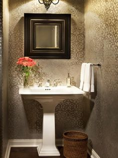 Transitional Bathrooms from Dorothy Willetts on HGTV