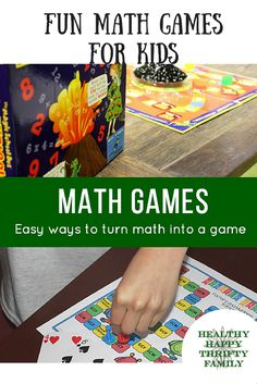 Fun math games for kids!