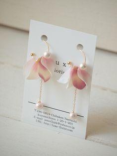 Ear Jewelry, Cute Jewelry, Jewelry Crafts, Beaded Jewelry, Jewelery, Jewelry Accessories, Jewelry Design, Diy Earrings, Bridal Earrings