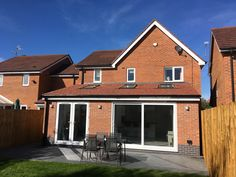 Build a single storey extension with roof windows Single Storey Extension, Roof Window, Extensions, Garage Doors, Cabin, Windows, House Styles, Building, Outdoor Decor