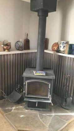 tile behind wood stoves heat shield how tile to
