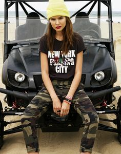 Josephine Skriver Gets Rebellious in Revolve Clothing Pre-Fall '13 Lookbook