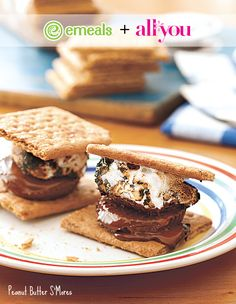 Peanut Butter S'Mores | All You + eMeals