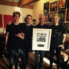 Calxx, Lukey, John & Mikey :))