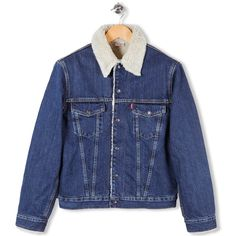 1967 Sherpa Jacket Denim by Levi's Vintage Clothing