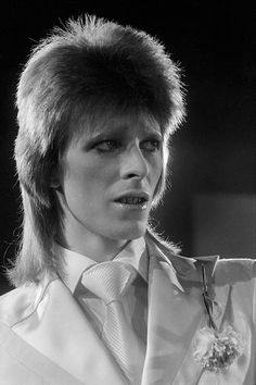 nightspell:  1973, London, 'The 1980 Floor Show'Photographer: Terry O'Neill www.iconicimages.net  Prom Date Bowie