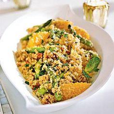 Quinoa Salad with Asparagus, Dates, and Orange | MyRecipes.com