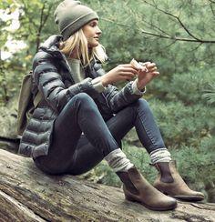What to wear when on a hike: Love this >> Rue La La — Moncler Women, Men, & Kids