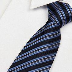 Man's Fashion Classic Dots Plaid Tie Cuff Link Tie clip Hanky Gift box