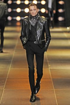 Saint Laurent Men's RTW Spring 2014 - Slideshow - Runway, Fashion Week, Reviews and Slideshows - WWD.com