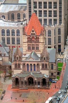 Trinity Church, Boston.