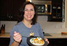 Maria Asay and her pie BreakfastBurritoPie