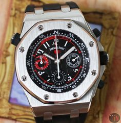 Audemars Piguet Watches, Audemars Piguet Royal Oak, Royal Oak Offshore, Old Watches, Mechanical Watch, Luxury Watches, Chronograph, Omega Watch, Stainless Steel