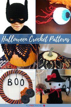 21 Free Halloween Crochet Patterns Crochet Costumes, Diy Costumes, Costume Ideas, Halloween Celebration, Halloween Party, Spooky Halloween, Halloween Crochet Patterns, Homemade Decorations, Holiday Decorations