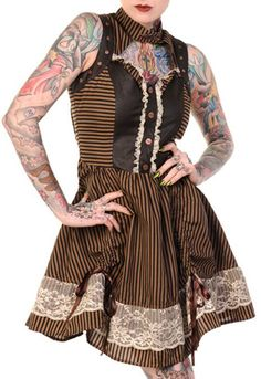 The Violet Vixen - Wicked Wench Dress, $93.00 (http://thevioletvixen.com/clothing/wicked-wench-dress/)