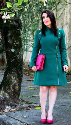 My emerald trench coat!