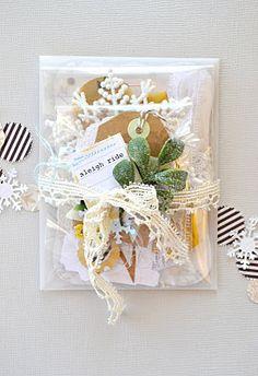 Sweet Gift Wrapping Idea.....Tara Anderson