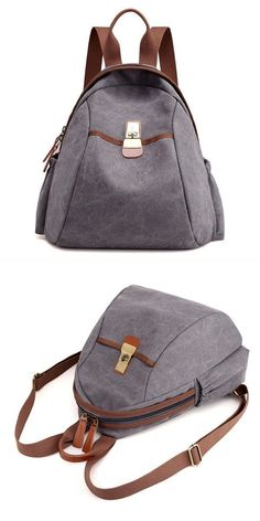 3eb112b5d298 Kvky women men canvas multifunction large capacity casual backpack satchel  travel bag tani9 backpackers osaka  0  1  backpack  problem  backpack   800td ...