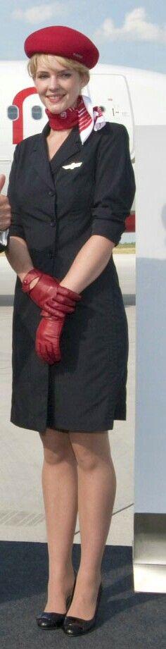 Air Berlin Stewardess | #Sexy #Stewardess #Air #Hostess |