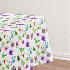 #initial - #Tablecloth. Monster. Tablecloth