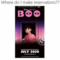 Boo has grown up ❤ Monster University character.waiting for it Disney movies <<<<< is this real! Funny Disney Memes, Disney Jokes, Disney Facts, Funny Memes, Hilarious, Disney And Dreamworks, Disney Pixar, Walt Disney, Disney Theory