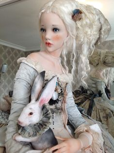 Artistic Portrait Photography, Artistic Wallpaper, Enchanted Doll, Artist Sketchbook, Artist Journal, Artist Logo, Gothic Dolls, Artist Trading Cards, Soft Dolls