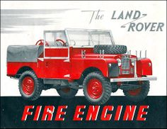 """1957 #LandRover Series I Fire Engine (WB 88"""")"""
