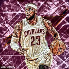 The King  #Cleveland #cavs #marchmadness #villanova #unc #goat #dope #sports #sportsedits #basketball #nba #like4like #tagsforlikes