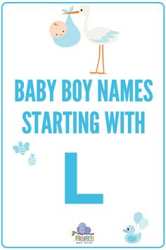 The most detailed list of popular & unique baby boy names starting with L. Discover hundreds of names for boys and boy middle names starting with the letter L along with the meanings and origin of each name! | baby l names ideas, baby boy l names #names #boynames #babyboynames #babynames #babyboy L Names For Boys, Baby Boy Middle Names, Unique Baby Boy Names, Girl Names, Boy Namea, Boy Names Spanish, Names Beginning With L, Baby Bot, Baby Name Letters