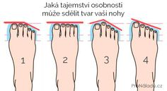 Jaká tajemství osobnosti může sdělit tvar vaší nohy | ProNáladu.cz