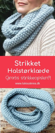 Warm and chunky knitted cowl / knitted scarf. Knit Cowl, Knit Beanie, Knit Crochet, Knitting Needles, Free Knitting, Knitting Patterns, Hobbies And Crafts, Diy And Crafts, Knitted Headband