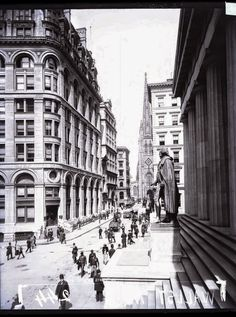 vintage everyday: 40 Amazing and Rare Vintage Photographs That Show Streets of New York City from the Late 19th Century