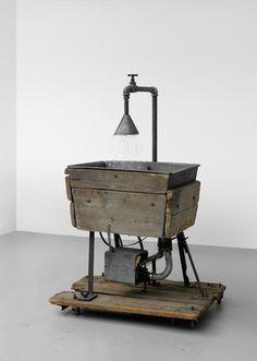 "Migros Museum für Gegenwartskunst- Tadeusz Kantor  The Sink  ""Let the Artists Die"", 1985, owned by Cricoteka"