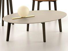 ZOE Table basse ovale by Dall'Agnese design Imago Design, Massimo Rosa