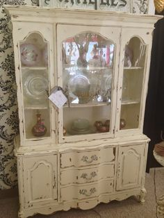 SOLD SALE Vintage China Cabinet By SophieClairesShop On Etsy, $520.00