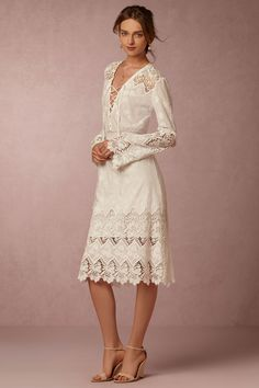 Meg Dress from @BHLDN this would be an amazing rehearsal dress