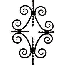 View straps/clavos options for your GlassCraft door.