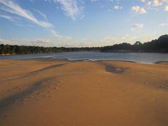 El imponente río Orinoco y su gran cantidad de afluentes, caños y lagunas en Puerto Carreno - Vichada. #colombia