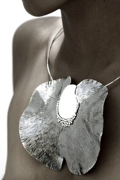 Lorenzo Pepe makes experimental jewelry, drawing inspiration from the structures and textures of the marine life that surrounds him.