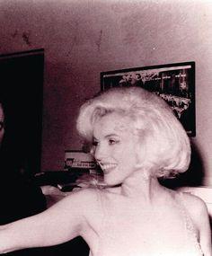 Marilyn Monroe at JFK's birthday gala. May 19,1962.