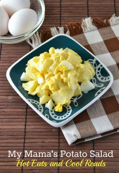 Hot Eats and Cool Reads: My Mama's Potato Salad Recipe