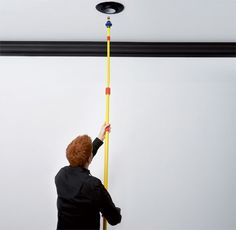 What's the best way to deal with dusting, light-bulb changing and painting in a house with high ceilings that are all but impossible to reach? PM—with a little help from the MythBusters—answers your questions.