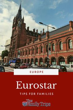 Eurostar is a high-speed train with service between Paris, London Brussels, Amsterdam and other cities in France, England, Belgium and Netherlands. Here's what to expect on Eurostar, with tips for making the most of your time and money. Eurostar with kids. Eurostar tips. | tipsforfamilytrips.com #Eurostar #travel