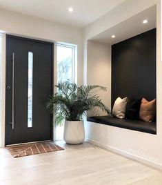 Home Design Decor, Home Room Design, Dream Home Design, Home Interior Design, Interior Architecture, Interior Decorating, House Design, Flur Design, Home Entrance Decor