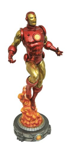 Diamond Select Marvel Gallery Iron Man by Bob Layton PVC Figure  www.FanboyCollectibles.com  https://www.facebook.com/fanboy.collectibles/  https://twitter.com/FanboyCollect  https://www.instagram.com/fanboycollectibles/  https://fanboycollectibles.tumblr.com