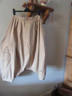 4b9d1d6881b0 Sale Lagenlook balloon shaped dropped crotch pantaloons