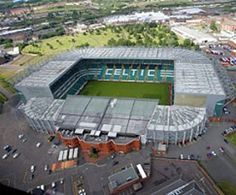 Celtic FC, Glasgow, Scotland. And I've been there! The men were able to tour this and of course loved it!!!!!!!!!!!!!!!!!!!!!!