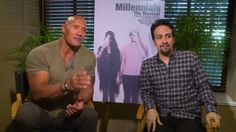 Dwayne The Rock Johnson and Lin-Manuel Miranda present Millennials: The Musical   Dwayne The Rock Johnson and Lin-Manuel Miranda have teamed up to create a musical. No! Not just any musical. A musical for MILLENNIALS!  Last week The Rocks Seven Bucks Digital Studios released their first mockumentaryvideo The Making of Millennials: The Musical where he and Miranda introduced the concept of their new musical and a look behind-the-scenes. The clip featured the musicals creator  an…