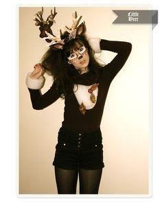 Reindeer for christmas... i totally should haha :)
