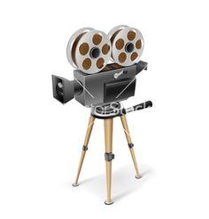 Retro cinema camera vector 3261056 - by romvo on VectorStock�